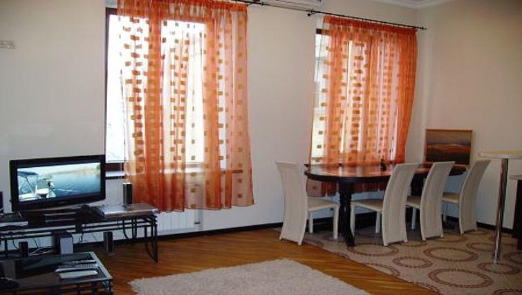 Attractive living area in Krassnoarmeyskaya Apartment