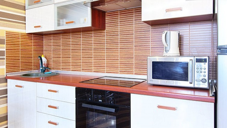 Bright kitchen in Rustaveli Apartment