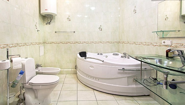 Fantastic bathroom in Rustaveli Apartment