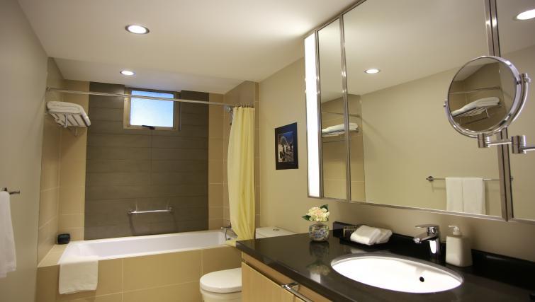 Pristine bathroom at Somerset Ho Chi Minh Apartments