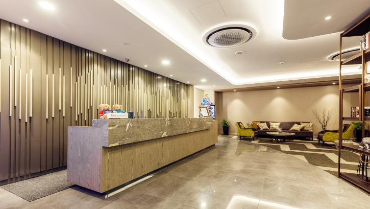 Reception at Somerset Ho Chi Minh Apartments
