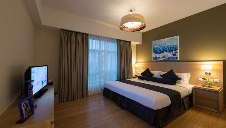 Ideal bedroom at Somerset Ho Chi Minh Apartments