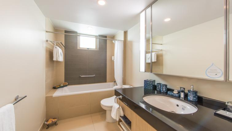 Immaculate bathroom at Somerset Ho Chi Minh Apartments