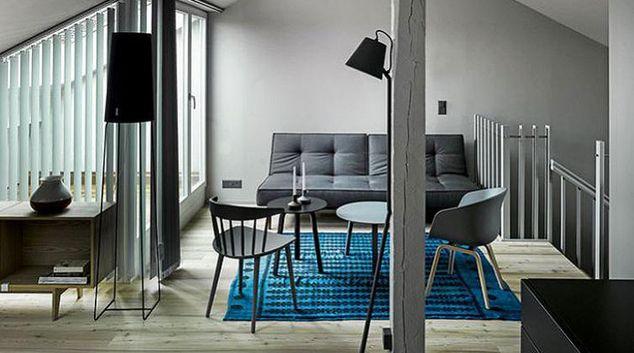 Modernistic living room in Blockweg 3 Apartments