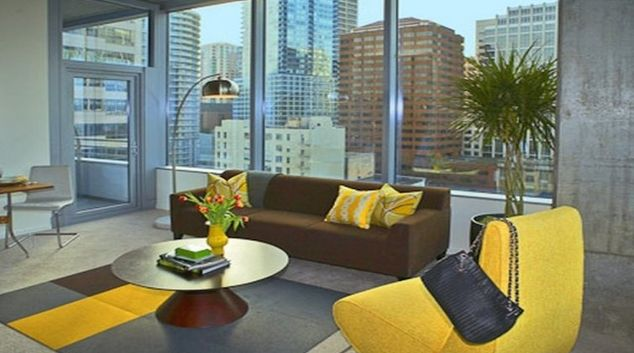 Classy living area in Aspira Apartments