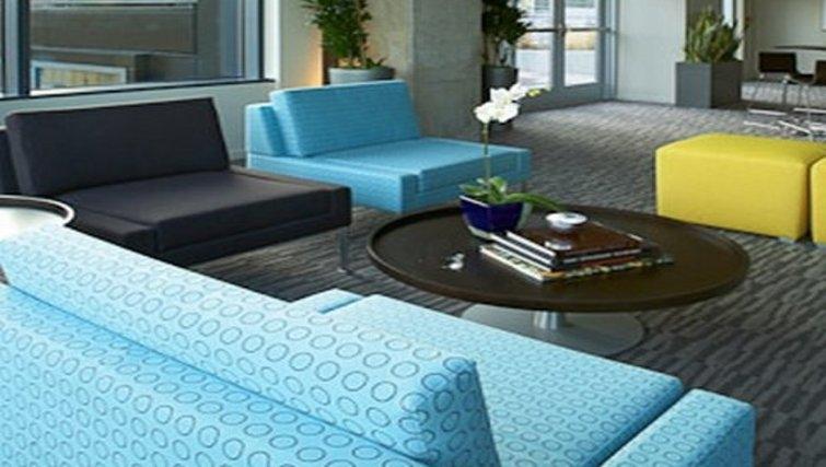 Living area in Aspira Apartments