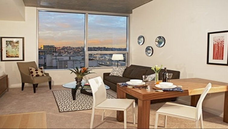 Dining area in Aspira Apartments