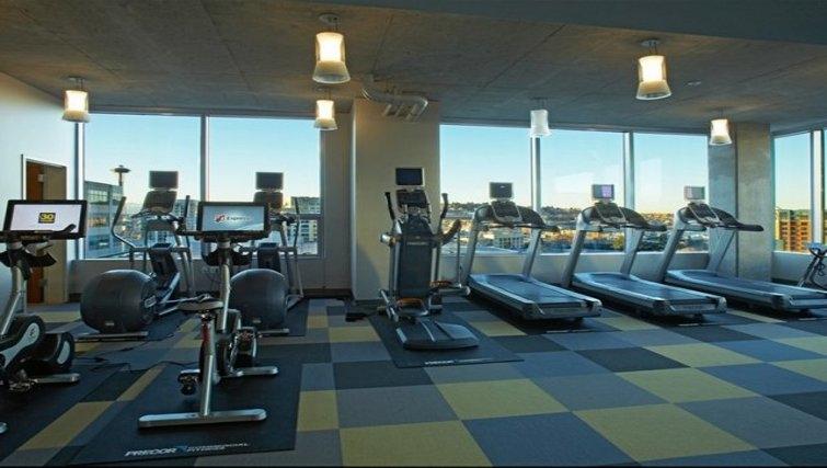 Gym in Aspira Apartments