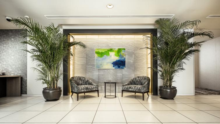 Reception at Somerset Azabu East Apartments