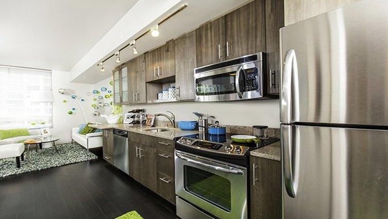 Divine kitchen in Via 6 Apartments