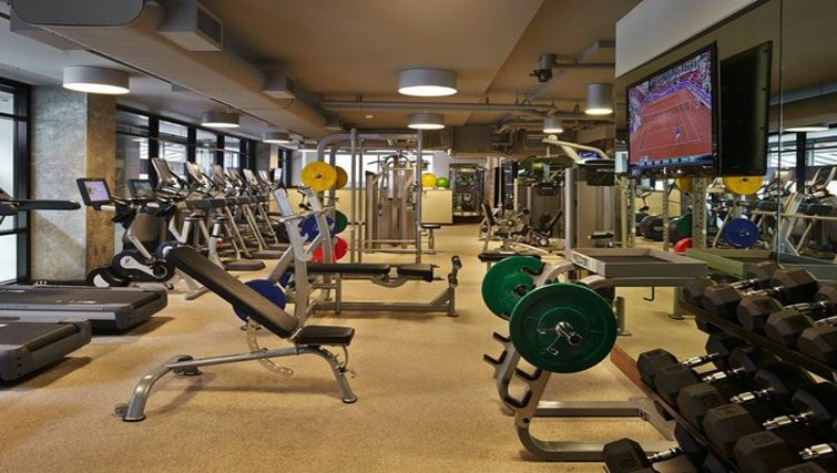 Gym in Via 6 Apartments