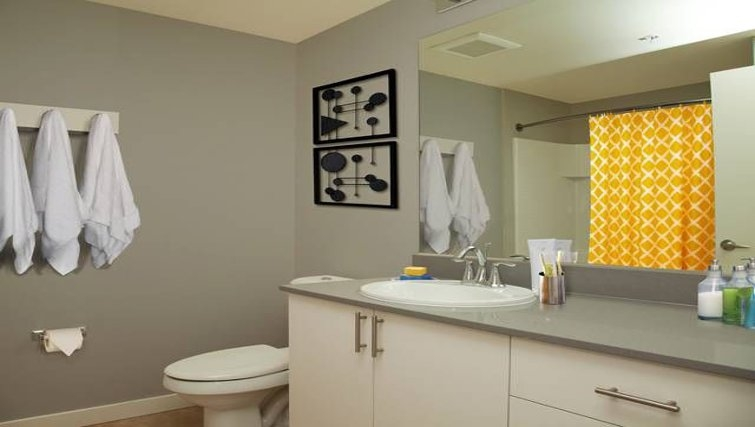 Ideal bathroom in AVA Queen Anne Apartments