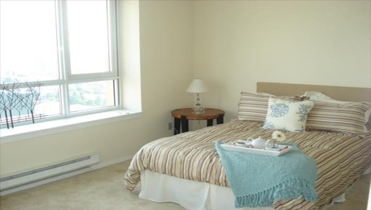 Appealing bedroom in Centennial Tower and Court
