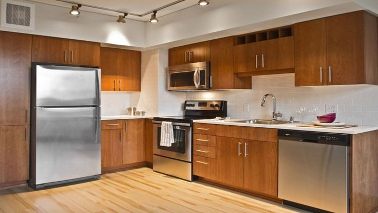 Gorgeous kitchen in Coppins Well Apartments