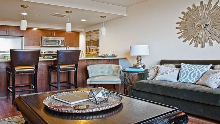 Dining area in Coppins Well Apartments