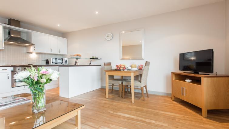 Kitchen at Premier Suites Nottingham