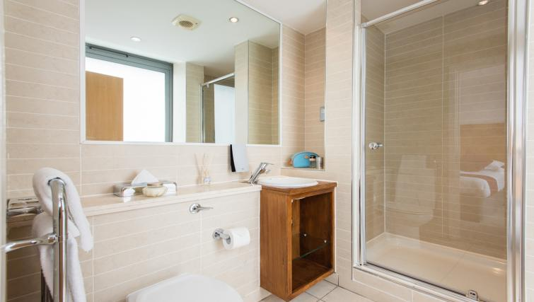 Bathroom at Premier Suites Nottingham