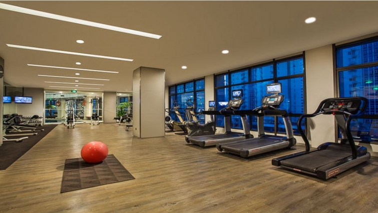 Exceptional gym in Somerset Xu Hui Apartments