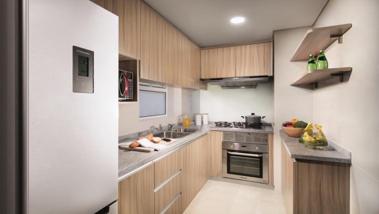 Oven at Somerset Xu Hui Apartments