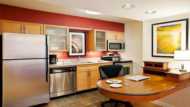 Desirable kitchen in Residence Inn Boulder