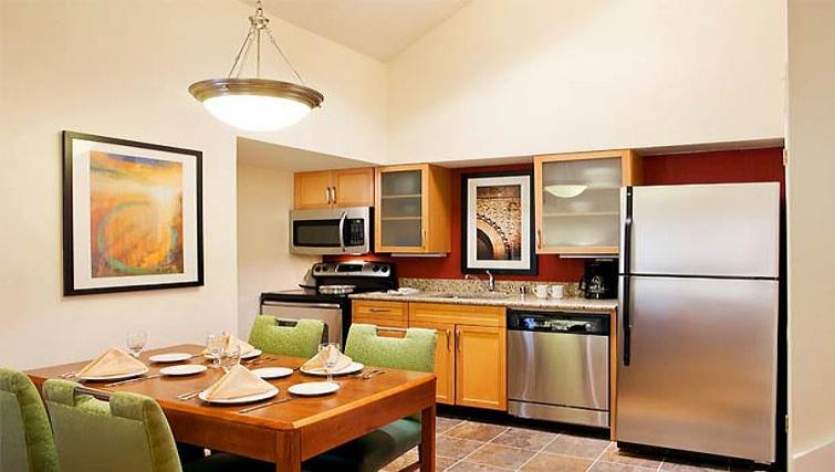 Gorgeous kitchen in Residence Inn Boulder