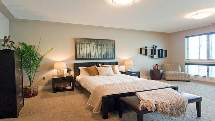 Luxurious bedroom in Bentley House