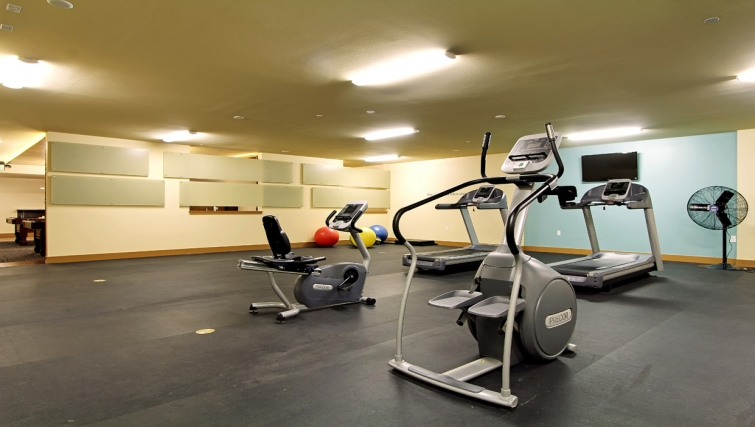 Functional gym in Bentley House