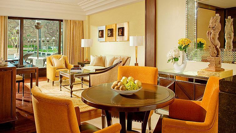 Living space at The Leela Palace Chennai Apartments