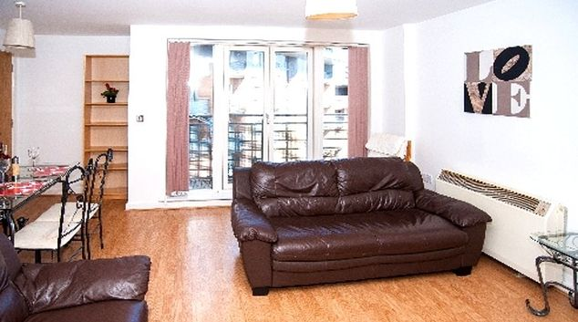 Charming living area in CV Central Apartments