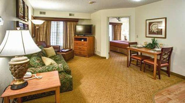Delightful living area in Homewood Suites Dallas Park Central Area