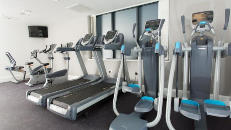 Equipped gym in Staybridge Suites Birmingham