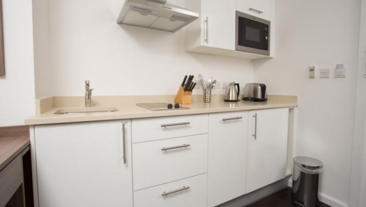 Ideal kitchen in Staybridge Suites Birmingham