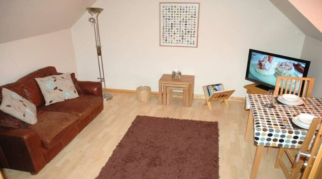 Intimate living area in Harbour Retreat