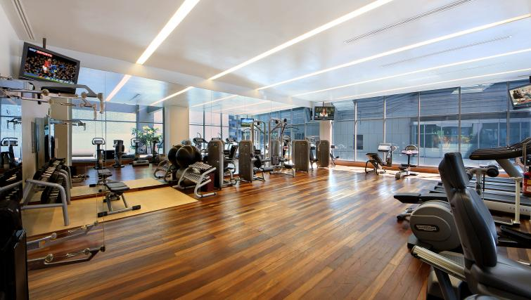 On-site fitness centre at ingapore Orchard Suites, Singapore