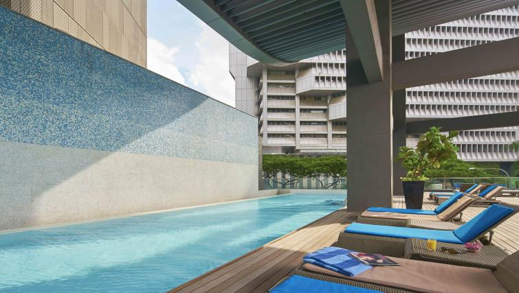 Swimming pool at Pan Pacific Serviced Suites Orchard, Singapore