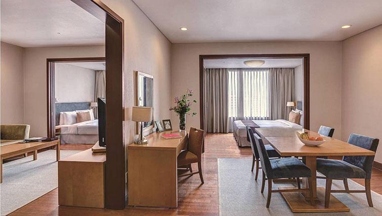 Living room at Somerset Palace Apartments