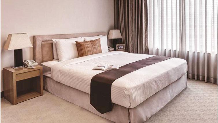 Bedroom at Somerset Palace Apartments