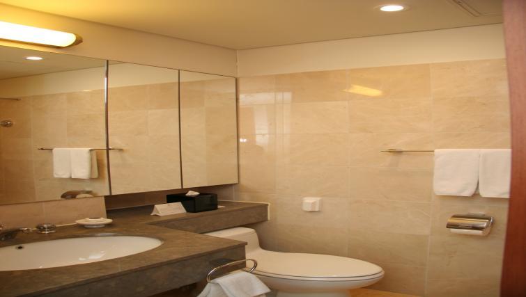 Bathroom at Somerset Palace Apartments