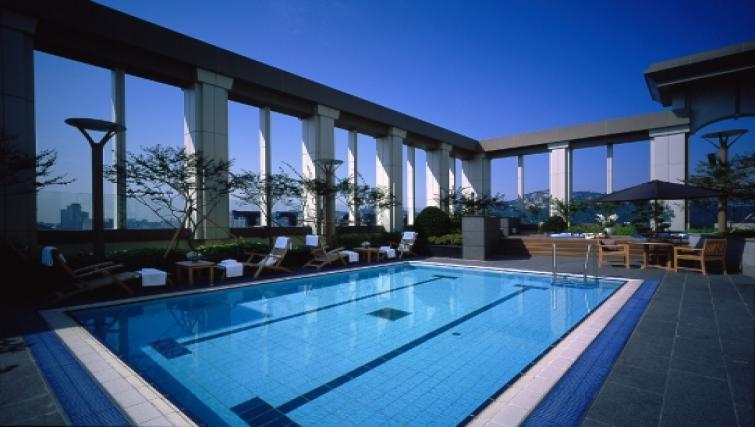 Pool at Somerset Palace Apartments