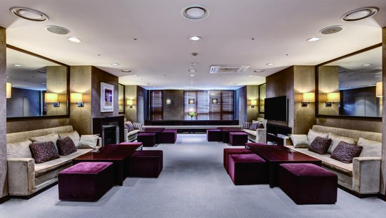 Communal lounge at Somerset Palace Apartments