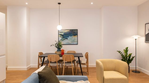 dining area at Cove Minshull Street, Piccadilly, Manchester