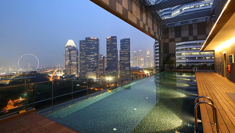 Pool at Pan Pacific Serviced Suites Beach Road, Singapore