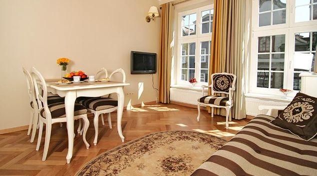 Unique living area in Mariacka Apartment