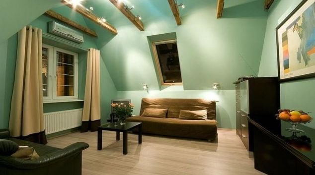 Stunning living area in Ducha Apartment