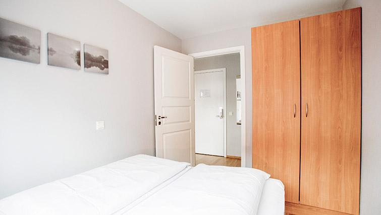 Bedroom at Lagardsveien Apartments