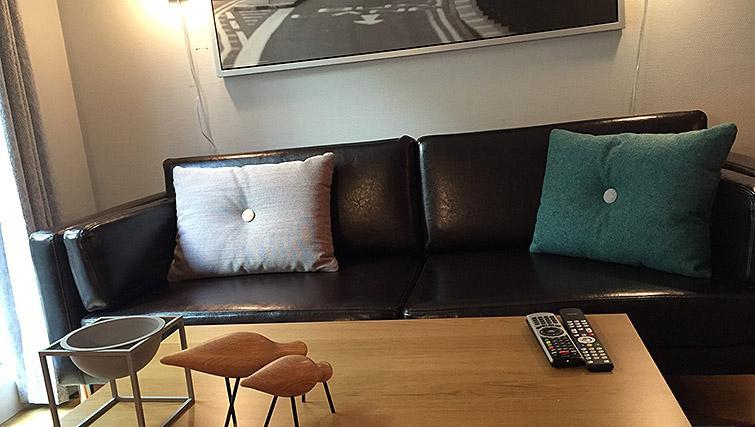 Sofa at Lagardsveien Apartments