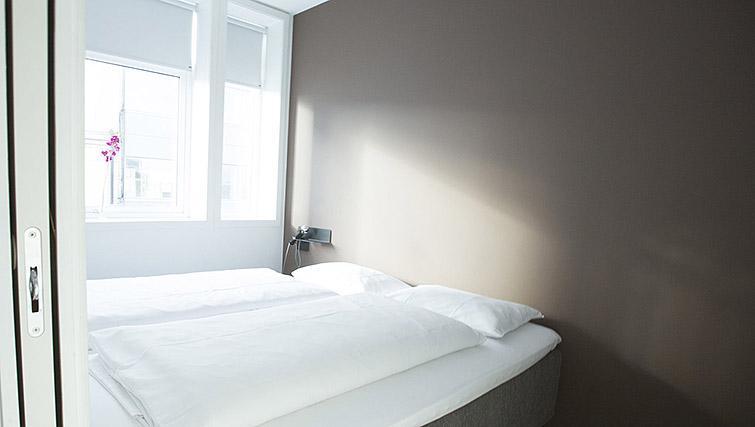 Bedroom at Kirkebakken Apartments