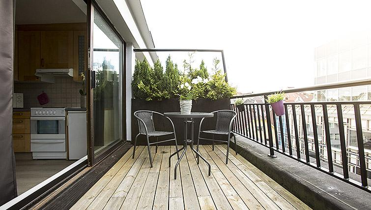 Terrace at Kirkebakken Apartments