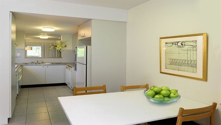 Immaculate kitchen at Medina Serviced Apartments North Ryde
