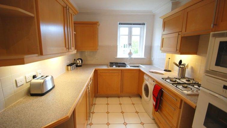 Ideal kitchen in Richmond Bridge Estate Apartments